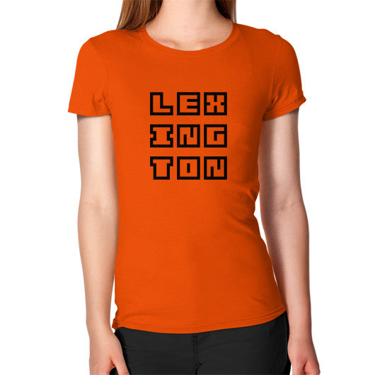 Women's T-Shirt Orange Arlington T Shirt
