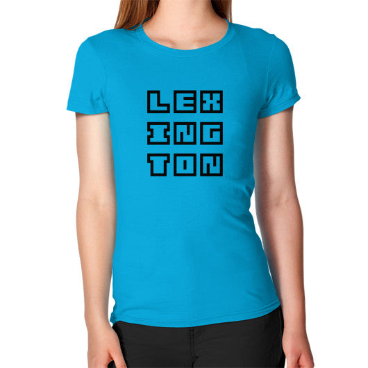 Women's T-Shirt Teal Arlington T Shirt