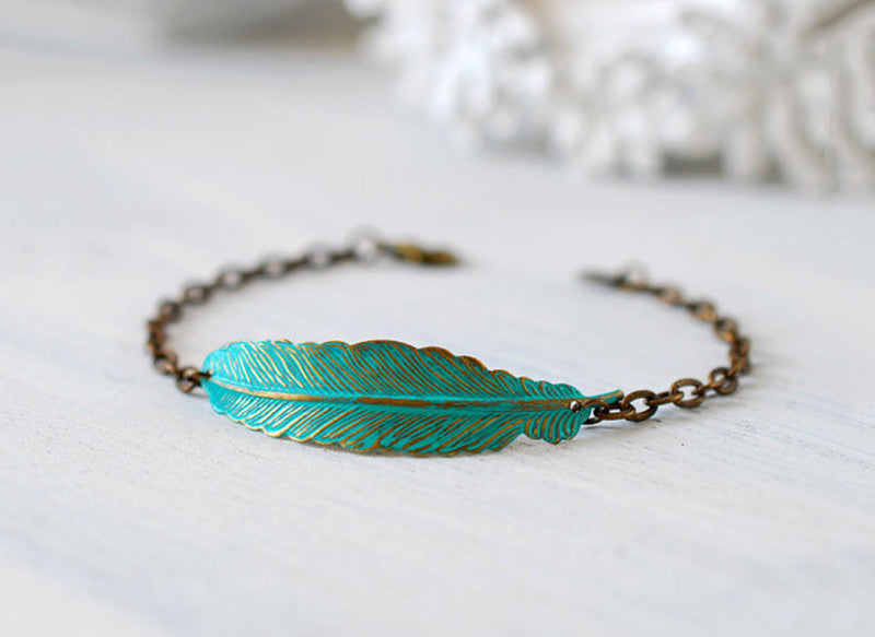 Leaf Shape Bracelet
