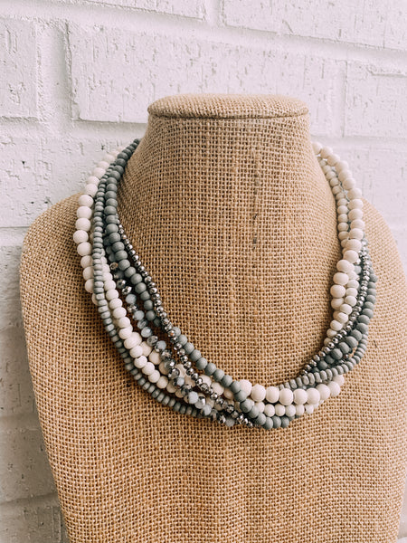 Layered Twist Necklace