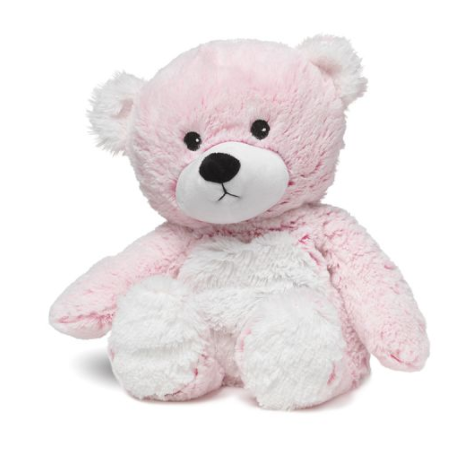 Warmies Pink Marshmallow Bear