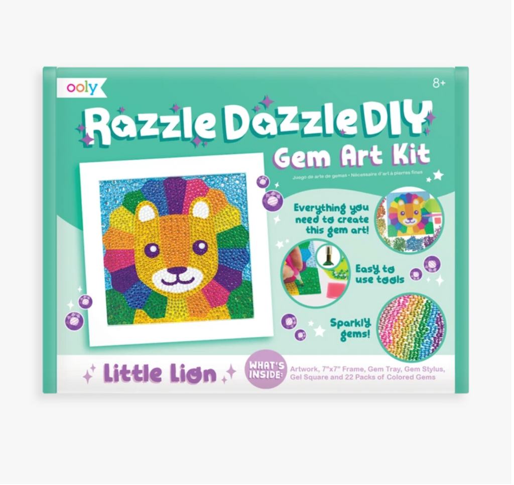 Razzle Dazzle DIY Gem Art Kit - Little Lion