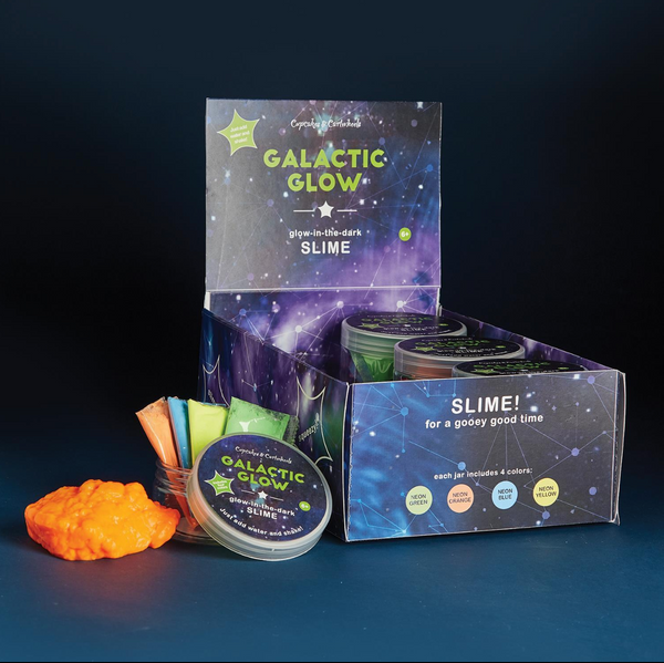 DIY Galatic Glow Slime Kit!