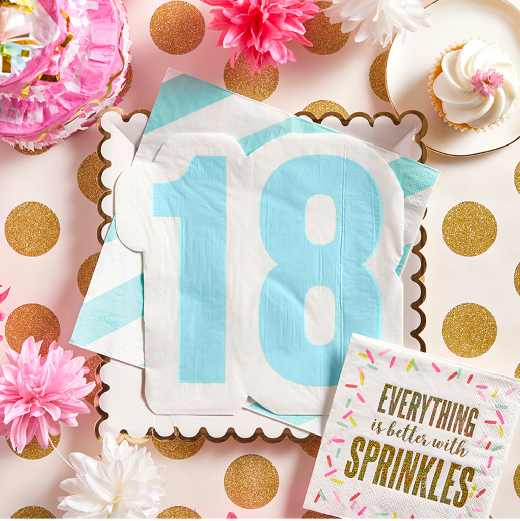 Milestone Birthday Napkins (More Options)