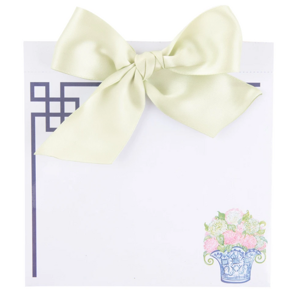 Southern Blooms Bow Notepad