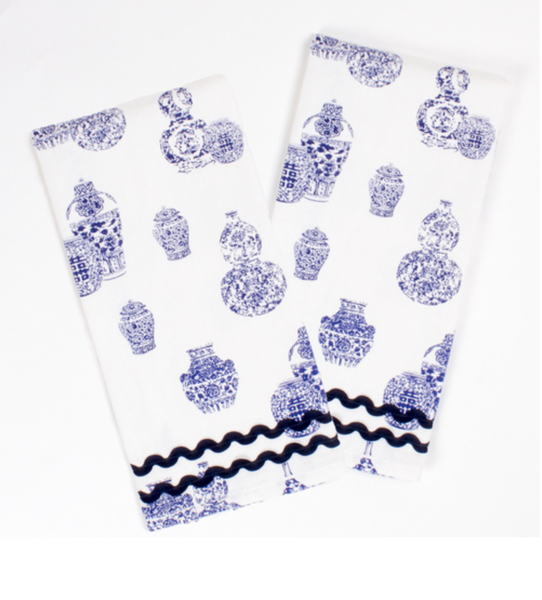 Ginger Jar Printed Kitchen Towels