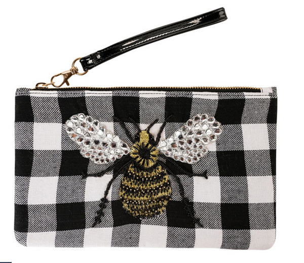 Violet & Brooks Bee Clutch