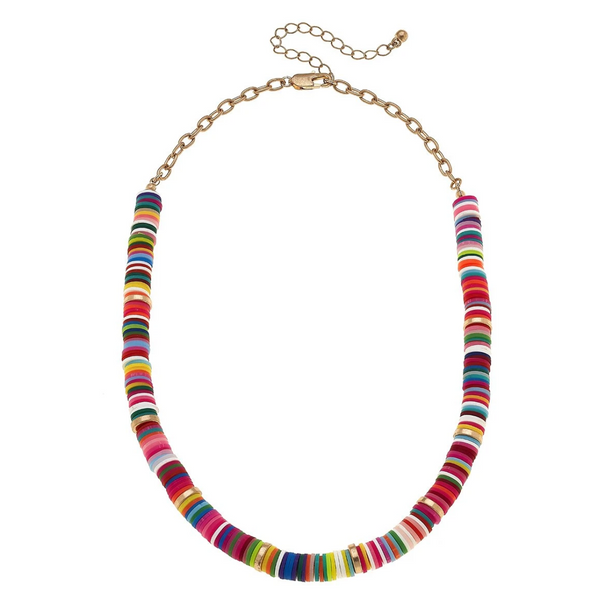 Emberly Color Block Necklace - Multi