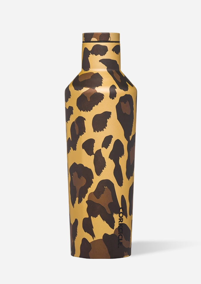 Corkcicle Luxe Leopard Canteen