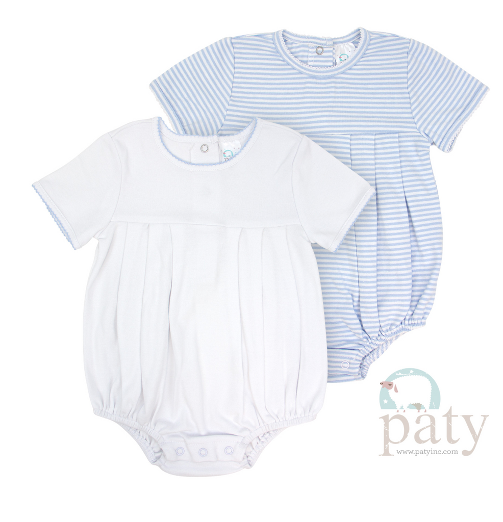 Boys Pleated Bubble