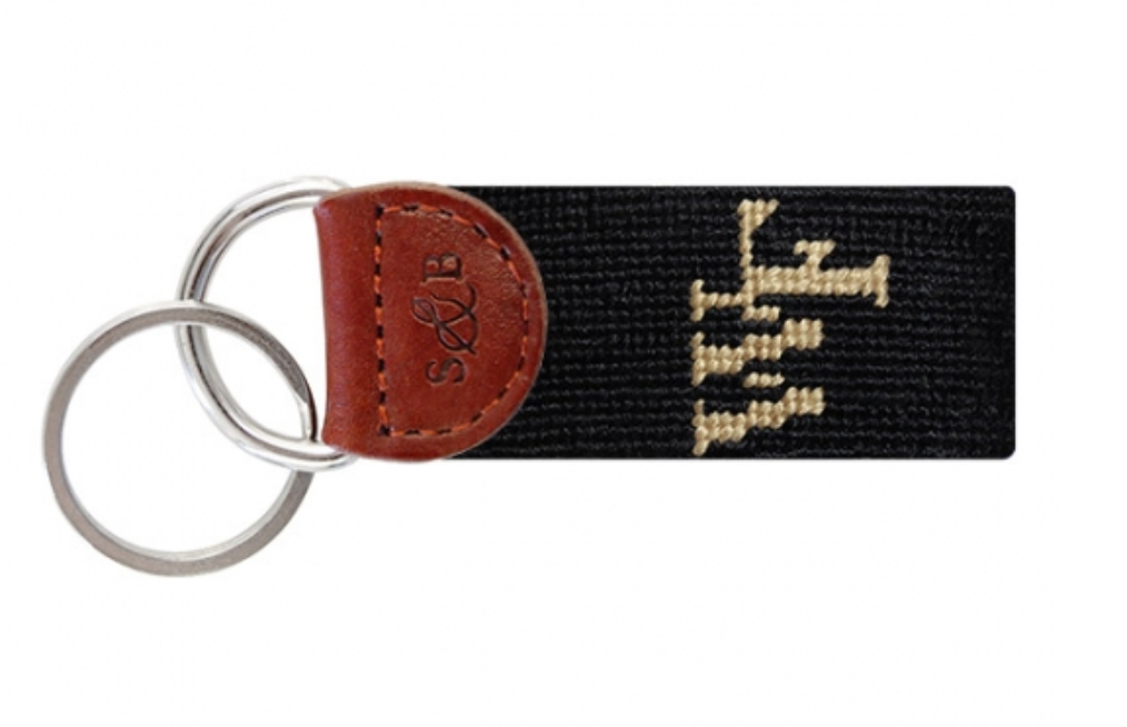Smathers & Brandson Needlepoint Key Fob - Wake Forest