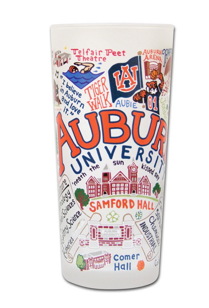 Auburn University Drinking Glass