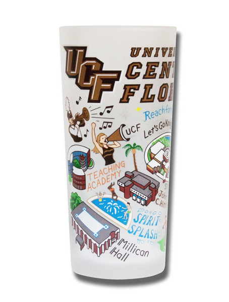 UCF Drinking Glass