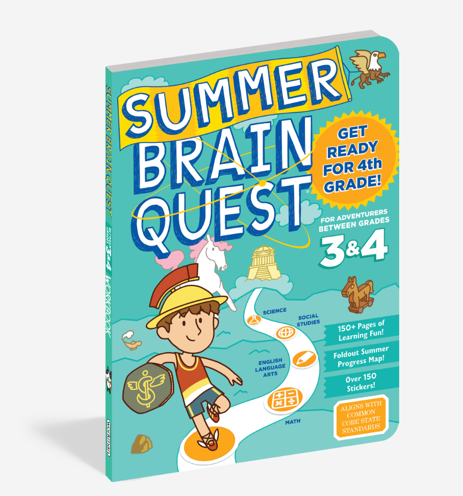 Summer Brain Quest Book - Grades 3 & 4