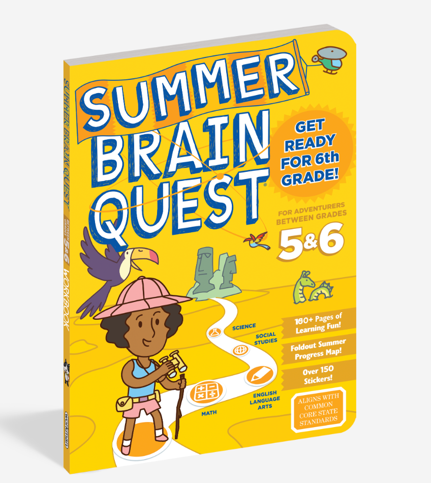 Summer Brain Quest Book - 5 & 6