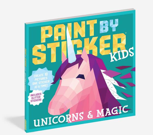 Paint by Sticker - Unicorns & Magic
