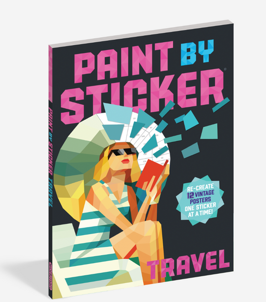 Paint by Sticker - Travel