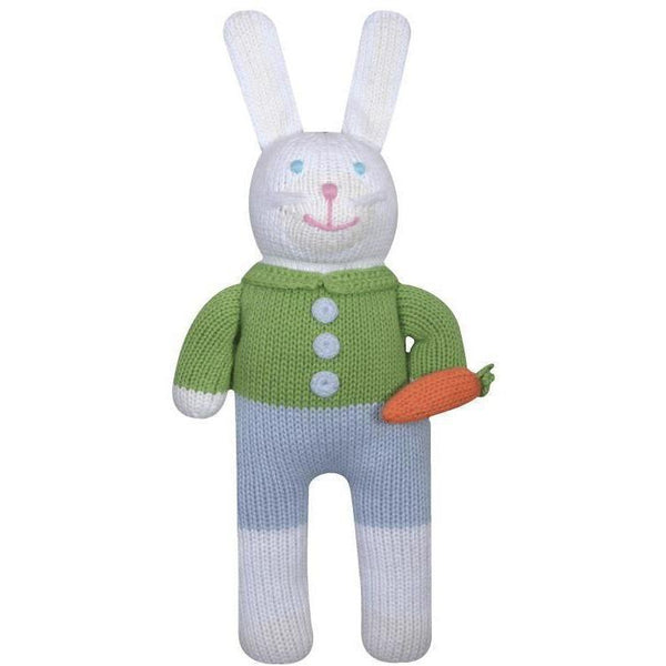 Collin the Bunny Knit Doll