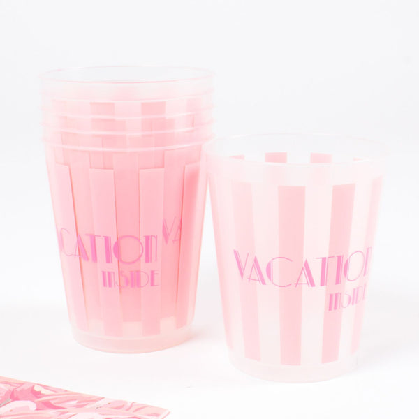 Vacation Inside Party Cups