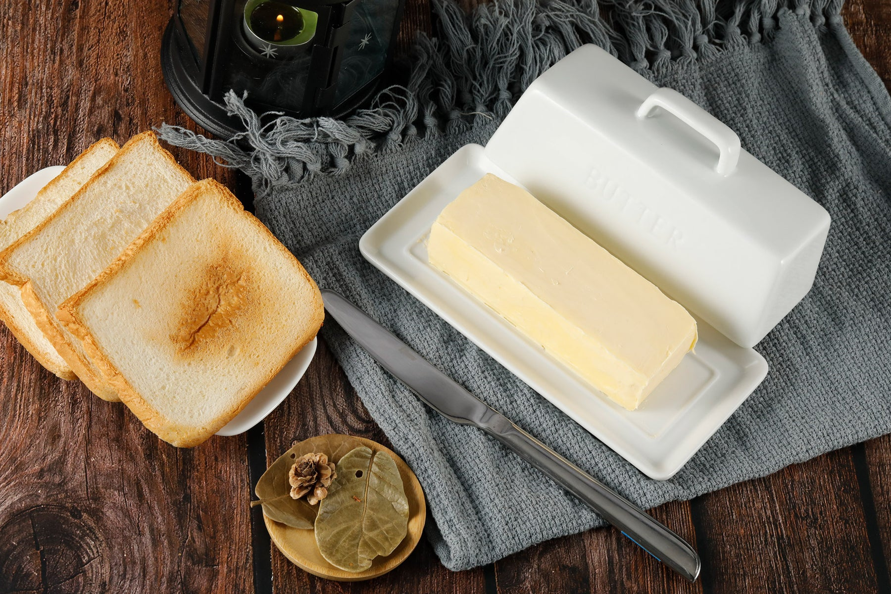 Butter Dish with Toast featured image