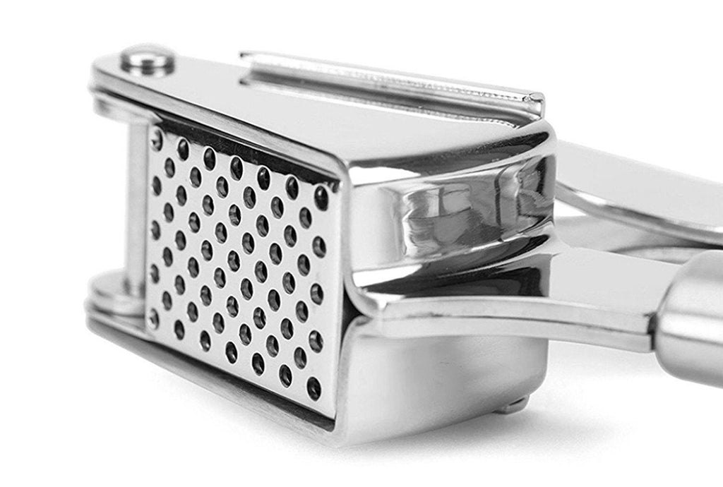 Garlic Press and Mincer, 18/10 Stainless Steel - PriorityChef