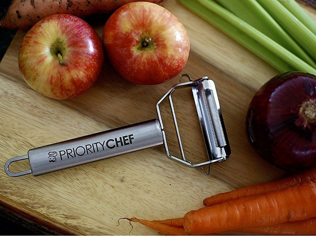 Vegetable and Julienne Peeler - PriorityChef