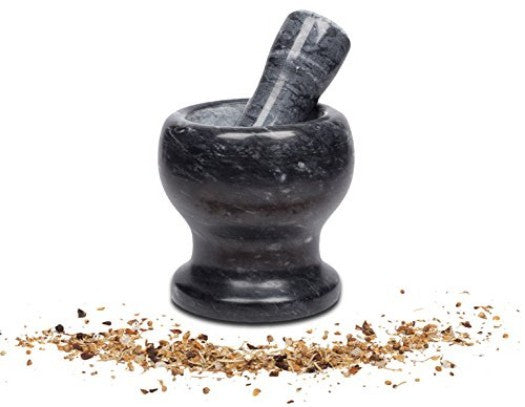 Mortar and Pestle, Black - PriorityChef