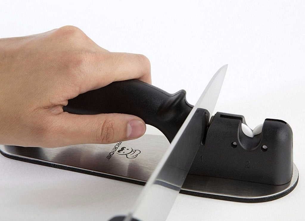 Precision Knife Sharpener, Best Performing Manual Knife Sharpener - PriorityChef