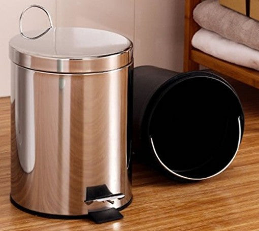 Trash Can Stainless Steel Priority Chef