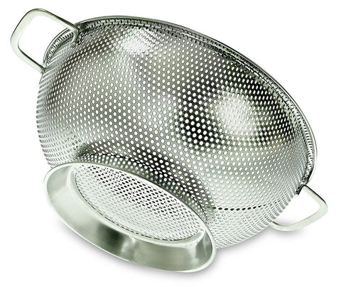 3 Quart Colander With Micro Fine Perforated Mesh