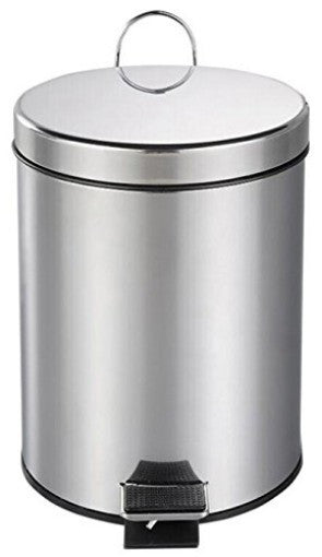 trash can stainless steel