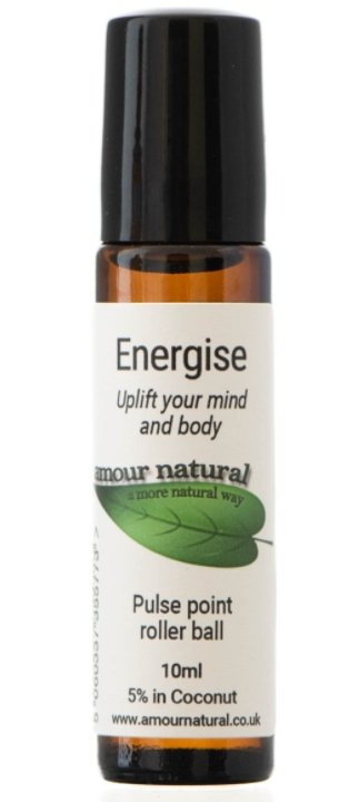 Amour Natural Energise Roller Ball - 10ml - Penny Brohn Shop