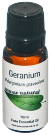 Amour Natural Geranium Oil - 10ml - Penny Brohn Shop