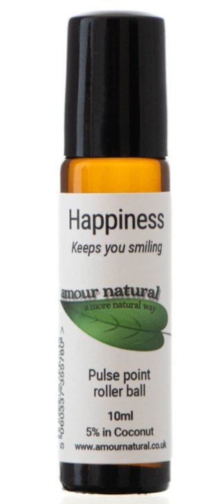 Amour Natural Happiness Roller Ball - 10ml - Penny Brohn Shop