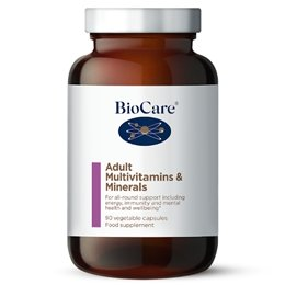 BioCare Adult Multivitamins & Minerals - 30 caps - Penny Brohn Shop