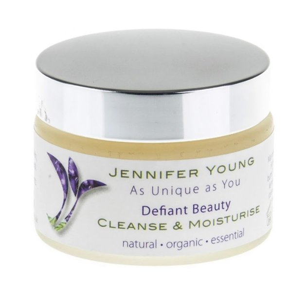 Defiant Beauty Cleanse & Moisturise 50g - Penny Brohn Shop