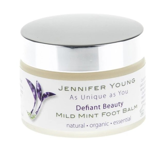 Defiant Beauty Mile Mint Foot Balm 50g - Penny Brohn Shop