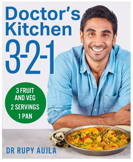 Doctor's Kitchen 3-2-1 by Dr Rupy Aujla - Penny Brohn Shop