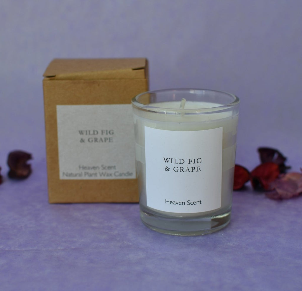 Heaven Scent 'Fig & Grape' Natural Candle - Penny Brohn Shop