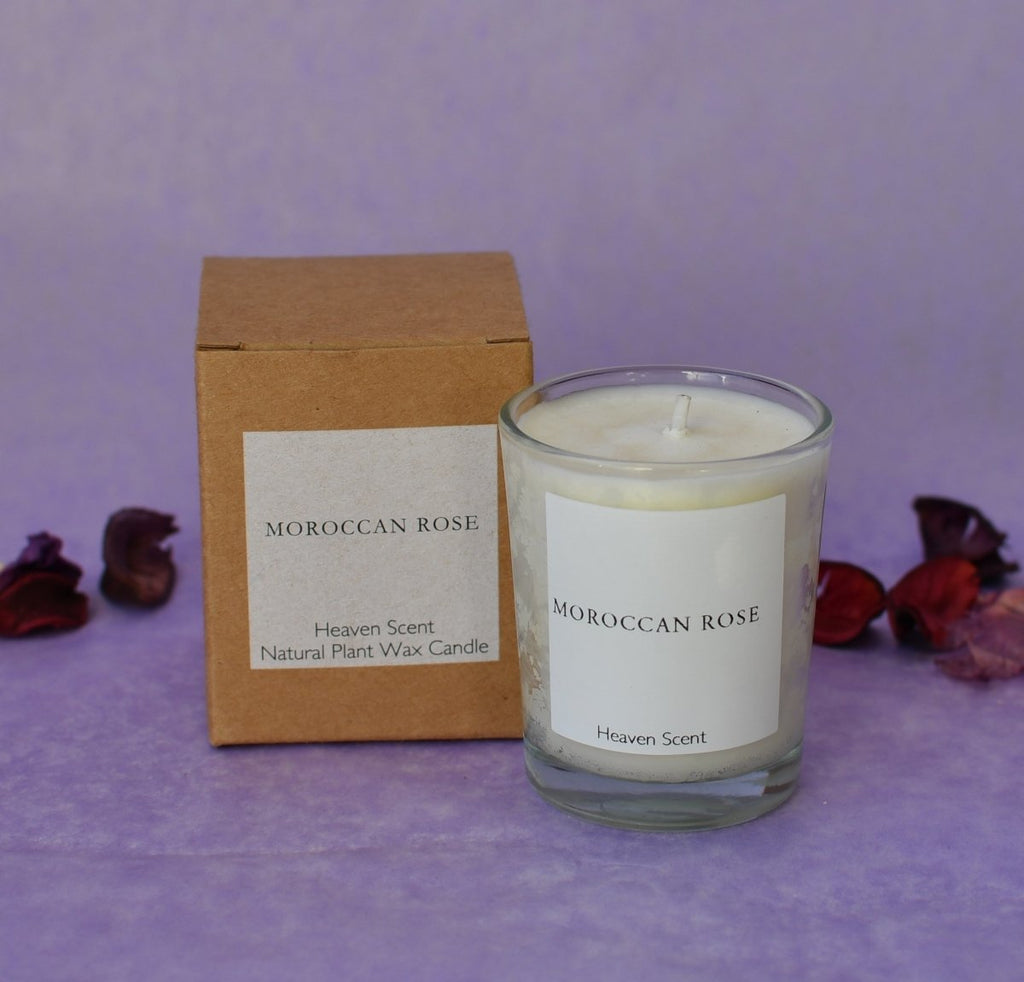 Heaven Scent 'Moroccan Rose' Natural Candle - Penny Brohn Shop