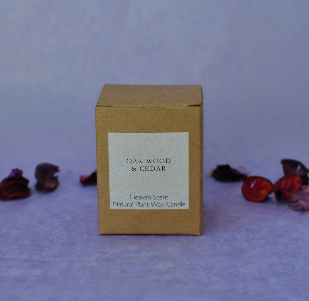 Heaven Scent 'Oak Wood & Cedar' Natural Candle - Penny Brohn Shop