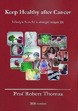 Keep Healthy After Cancer by Prof Robert Thomas - Penny Brohn Shop