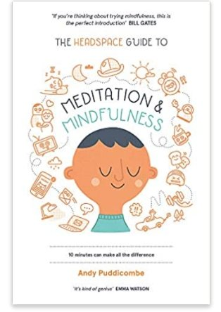 Meditation and Mindfulness - A Headspace Book by Andy Puddicombe - Penny Brohn Shop