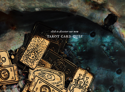 Try our new Tarot Card quiz!
