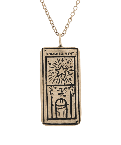 Enlightenment Tarot Card Necklace
