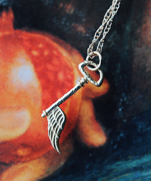 Angel Key Necklace