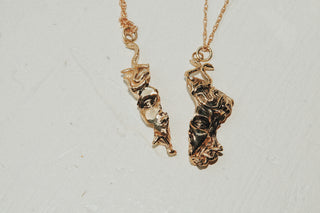West Medusa Relic Necklace