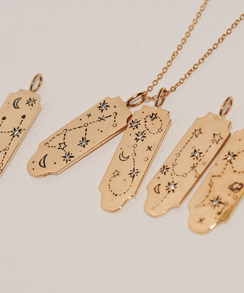 Taurus Written in the Stars Necklace