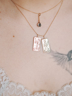 The Empress Tarot Card Necklace