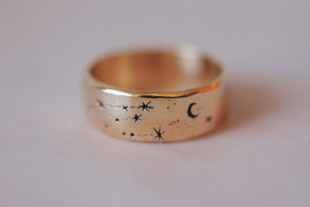 Written in the Stars Ring 7.5mm